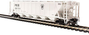 Broadway H32 Hopper Pennsylvania RR gray (2) HO Scale Model Train Freight Car #4089