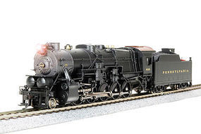 Broadway 2-10-0 with Sound Pennsylvania RR #4372 HO Scale Model Train Steam Locomotive #4179