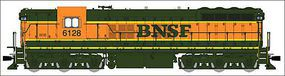 Broadway EMD SD9 with Sound BNSF #6108 HO Scale Model Train Diesel Locomotive #4244