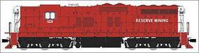Broadway EMD SD9 with Sound Reservation Mining HO Scale Model Train Diesel Locomotive #4256