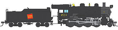 Broadway Limited Imports 2-8-0 with Sound Canadian National #2114 -- HO Scale Model Train Steam Locomotive -- #4313