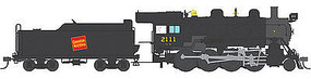 Broadway 2-8-0 with Sound Canadian National #2114 HO Scale Model Train Steam Locomotive #4313