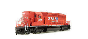 Broadway SD40-2 with Sound Canadian Pacific #5479 HO Scale Model Train Diesel Locomotive #4330