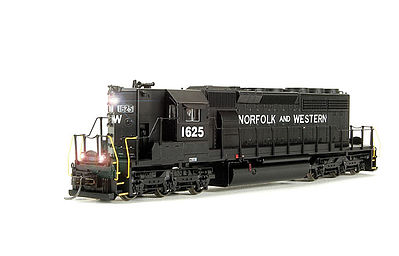 Broadway Limited Imports SD40-2 High Nose with Sound Norfolk & Western -- HO Scale Model Train Diesel Locomotive -- #4332