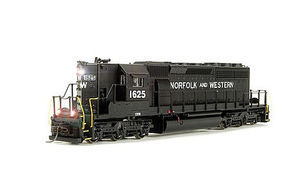 Broadway SD40-2 High Nose with Sound Norfolk & Western HO Scale Model Train Diesel Locomotive #4332