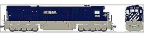 Broadway GE C30-7 BC Rail #3623 with Sound HO Scale Model Train Diesel Locomotive #4405