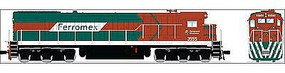 Broadway GE C30-7 Ferromex #3564 with Sound HO Scale Model Train Diesel Locomotive #4411