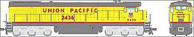 Broadway GE C30-7 Union Pacific #2408 with Sound HO Scale Model Train Diesel Locomotive #4414
