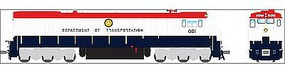 Broadway GE C30-7 US DOT #001 with Sound HO Scale Model Train Diesel Locomotive #4418