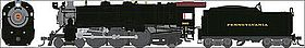 Broadway K4s 4-6-2 with sound Undecorated HO Scale Model Train Steam Locomotive #4423