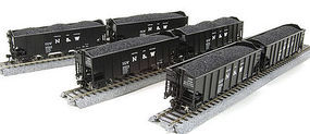 Broadway H2a Hopper Norfolk & Western 6 pack R HO Scale Model Train Freight Car #4442