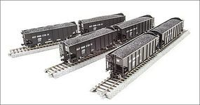 Broadway H2a Hopper Baltimore & Ohio 6 pack Q HO Scale Model Train Freight Car #4451