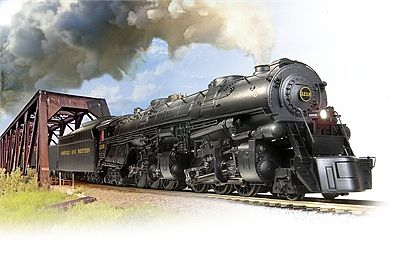 Broadway Limited Imports Norfolk & Western CL A 2-6-6-4 #1232 with Sound -- HO Scale Model Train Steam Locomotive -- #4478