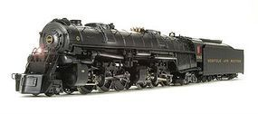 Broadway Norfolk & Western CL A 2-6-6-4 #1240 with Sound HO Scale Model Train Steam Locomotive #4481