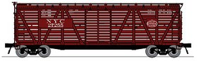 Broadway K7 Stock Car New York Central with Cattle Sounds HO Scale Model Train Freight Car #4570