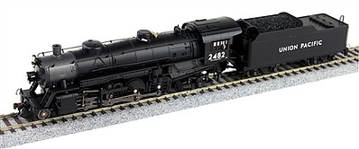 Broadway Limited Imports Ho Lt Mikado UP 2490