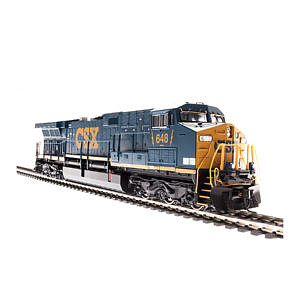 Broadway Limited Imports Ho AC6000 w/smoke CSX 668