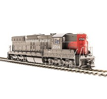 Broadway EMD SD9 w/Sound & DCC Paragon3(TM) Southern Pacific #5347 (gray, red)