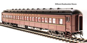 Broadway PRR P70R Coach No Air Conditioning - Ready to Run Pennsylvania Railroad 1272 (Tuscan, black, buff)