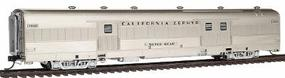 Broadway Paragon(TM) Series ''California Zephyr'' Baggage Car Assembled, Lighted Chicago, Burlington & Quincy #903 ''Silver Bear'' HO-Scale