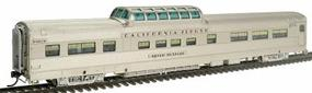 Broadway Paragon(TM) Series ''California Zephyr'' Vista Dome Assembled, Lighted Denver & Rio Grande Western #1107 ''Silver Mustang'' HO-Scale