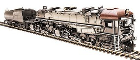 Broadway Class AC5 4-8-8-2 Cab Forward - Sound and DCC - Paragon3 Painted, Unlettered (gray, black, brown, Lines Lettering)