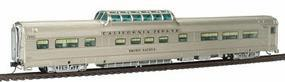 Broadway Vista Dome Chicago, Burlington, & Qunicy #4721 HO Scale Model Train Passenger Car #536