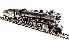 Broadway Limited Imports HO UP Mtn 4-8-2 P3 w/smok 7012