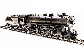 Broadway Limited Imports HO UP Mtn 4-8-2 P3 w/smok 7009