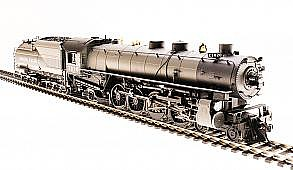Broadway Limited Imports HO UP Mtn 4-8-2 P3 w/smok 7020