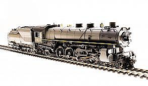 Broadway Limited Imports HO UP Mtn 4-8-2 P3 w/smok 7022