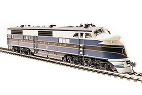 Broadway EMC EA - Sound & DCC - Paragon3 Baltimore & Ohio 52 (As-Delivered, blue, black, gray)