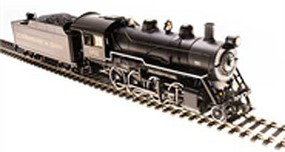 Broadway HO 2-8-0 Consolid P3 C&O #166