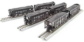 Broadway HO H2a 3-Bay Hopper, PRR Pack S (6)