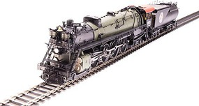 Broadway Class S-2 4-8-4 with Open Cab Sound and DCC Paragon3 Great Northern 2581 (green, black, Tuscan, Rocky Logo)