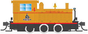 Broadway Plymouth WLG-8 35-Ton Switcher Pittsburg Coal Co HO Scale Model Train Steam Locomotive #6075