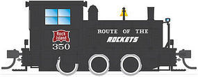 Broadway Plymouth WLG-8 35-Ton Switcher Rock Island #350 HO Scale Model Train Steam Locomotive #6078