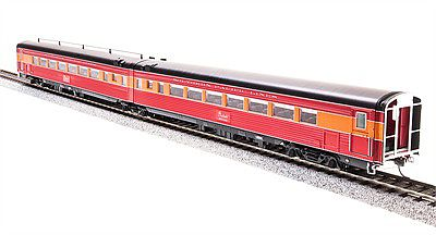 Broadway Limited Imports Articulated Chair Southern Pacific 2 car set -- HO Scale Model Train Passenger Car -- #698