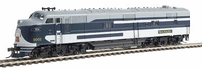 Broadway Limited Imports Paragon(TM) Series Diesel EMD E7A Powered w/Quantum(TM) Sound -- Wabash #1001 - HO-Scale