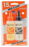 Bob-Smith Mid-Cure 15-Minute 2-Part Epoxy 4.5oz
