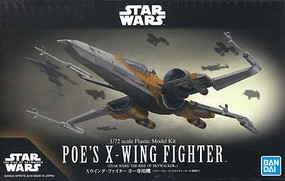 Bandai-Star-Wars Poe's X-Wing Fighter Rise of Skywalker