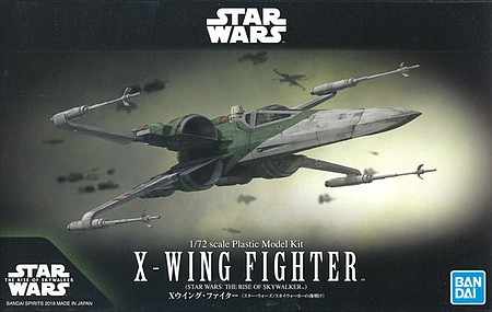 Bandai Star Wars X Wing Fighter Rise Of Skywalker 5058313