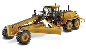 B2B-Replicas Caterpillar 24M Motor Grader - Assembled - DM High Line Series Yellow, Black - 1/50 Scale