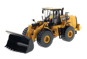 B2B-Replicas Caterpillar 972M Wheel Loader - Assembled - DM High Line Series Yellow, Black - 1/50 Scale