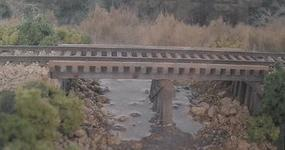 BTS Laser-Cut Cheat Run Trestle Kit - Standard Gauge O Scale Model Railroad Bridge #17142
