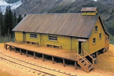 BTS West Side Lumber Co. Reynolds Cook House - Kit O Scale Model Railroad Building #17475