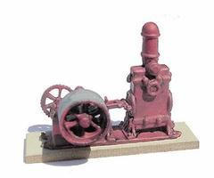 BTS 1876 Challenge Pump - Kit HO Scale Model Railroad Building #20700
