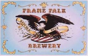 BTS Franz Falk Brewery Billboard HO Scale Model Railroad Billboard #20918