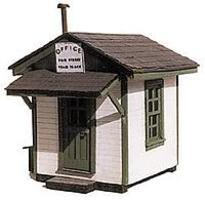BTS Southern Railway Team Track Office - 1-5/8 x 2 HO Scale Model Railroad Building #27107