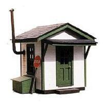 BTS Crossing Shanty - 1-5/8 x 2 HO Scale Model Railroad Building #27111